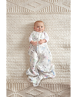 Aden & Anais Meadowlark Sleeping Bag - 1 TOG - 100% Bamboo - The coolest sleep sack for summer Light Sleeping Bags