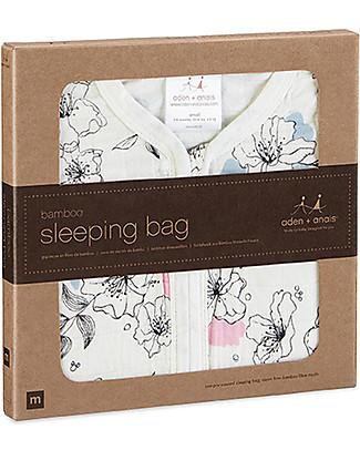 Aden & Anais Meadowlark Sleeping Bag - 1 TOG - 100% Bamboo - The coolest sleep sack for summer Light Sleeping Bags