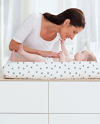 Aden & Anais Midnight Changing Mat Cover - 100% Cotton Muslin Changing Mats And Covers