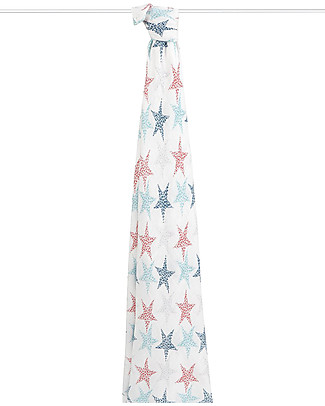 Aden & Anais Midnight Multi-use Swaddle - Starry Night -100% Bamboo Muslin  Swaddles