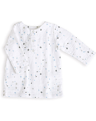 Aden & Anais Night Sky Tunic Top - Cotton Muslin! Long Sleeves Tops