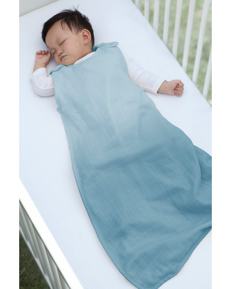 Aden & Anais Seaside Merino Muslin Sleeping Bag - 100% Merino Wool Muslin Warm Sleeping Bags