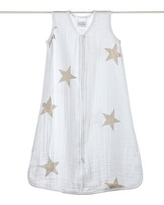 Aden & Anais Super Stay Scout Classic Sleeping Bag 1 TOG - 100% Cotton Muslin (Lightweight) Light Sleeping Bags