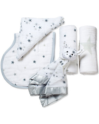 Aden & Anais Twinkle New Beginnings Gift Set (4 gifts in one) Swaddles