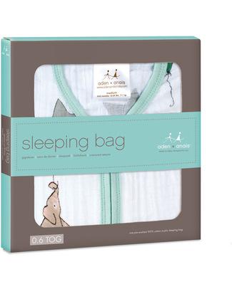 Aden & Anais Up Up and Away Classic Sleeping Bag 1 TOG - 100% Cotton Muslin (lightweight) Light Sleeping Bags
