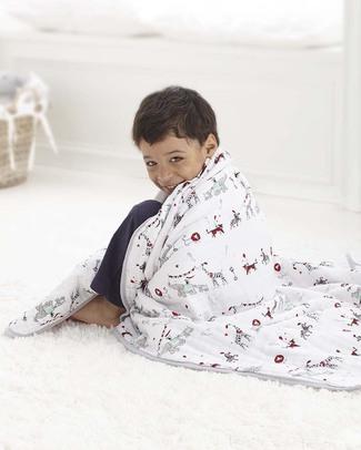 Aden & Anais Vintage Circus Classic Dream Blanket™ - 100% Cotton Muslin (120x120 cm) Blankets