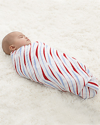 Aden & Anais Vintage Circus Swaddles Set of 4 Multi-use 100% Cotton Muslin Swaddles