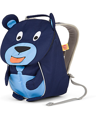 Affenzahn Kids Backpack 1-3 years, Bobo Bear – Eco-friendly and Playful! Small Backpacks