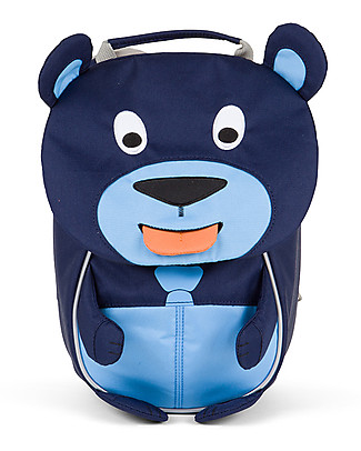 Affenzahn Kids Backpack 1-3 years, Bobo Bear - Eco-friendly and Playful! Small Backpacks