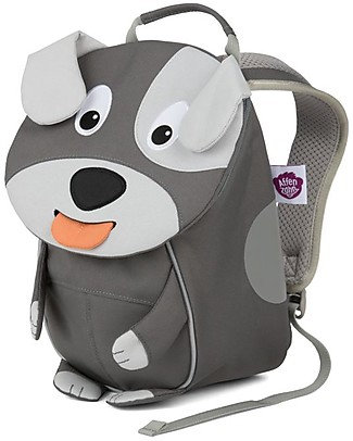 Affenzahn Kids Backpack 1-3 years, David Dog - Eco-friendly and playful! Small Backpacks