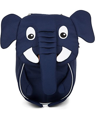 Affenzahn Kids Backpack 1-3 years, Emil Elephant - Eco-friendly and playful! Small Backpacks