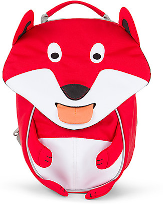 Affenzahn Kids Backpack 1-3 years, Frida Fox - Eco-friendly and Playful! Small Backpacks