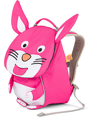 Affenzahn Kids Backpack 1-3 years, Henni Rabbit – Eco-friendly and Playful! Small Backpacks