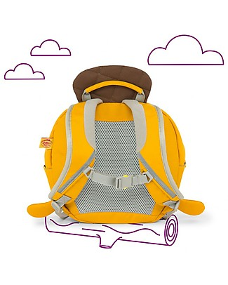 Affenzahn Kids Backpack 1-3 years, Henni Rabbit - Eco-friendly and Playful! Small Backpacks