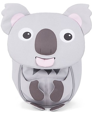 Affenzahn Kids Backpack 1-3 years, Karla Koala - Eco-friendly and playful! Small Backpacks