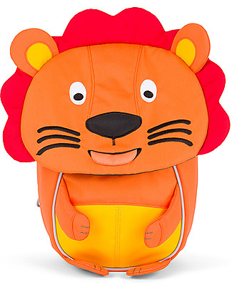 Affenzahn Kids Backpack 1-3 years, Lena Lion – Eco-friendly and Playful Small Backpacks