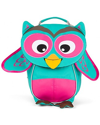 Affenzahn Kids backpack 1-3 years. Owl Olivia - Eco-friendly and playful! Small Backpacks