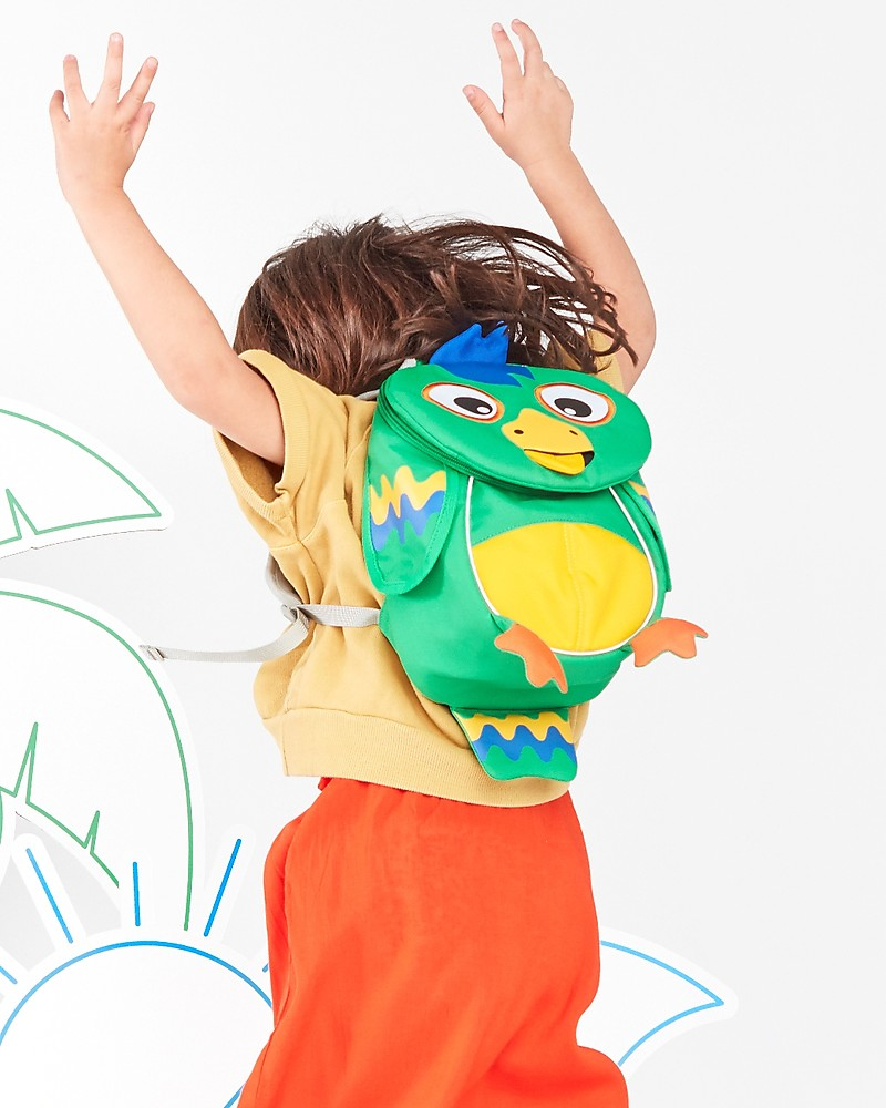 3de38ccd7 Affenzahn Kids Backpack 1-3 years, Piet Parrot - Eco-friendly and playful