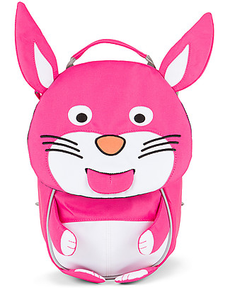 Affenzahn Kids Backpack 1-3 years, Rosalie Rabbit - Eco-friendly and Playful! null