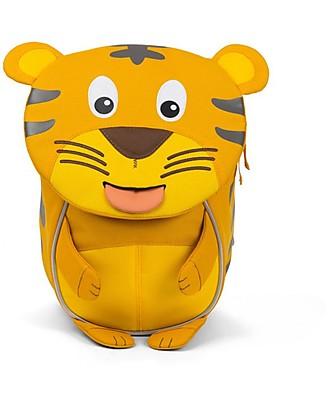Affenzahn Kids Backpack 1-3 years, Timmy Tiger - Eco-friendly and Playful! Small Backpacks