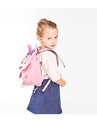 Affenzahn Kids Backpack 1-3 years Ulla Unicorn - Organic Cotton null