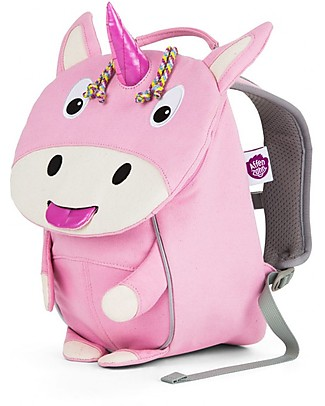 Affenzahn Kids Backpack 1-3 years Ulla Unicorn - Organic Cotton Small Backpacks