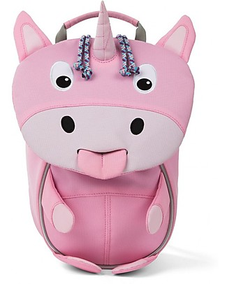 Affenzahn Kids backpack 1-3 years, Ulrike Unicorn - Eco-friendly and playful! Small Backpacks