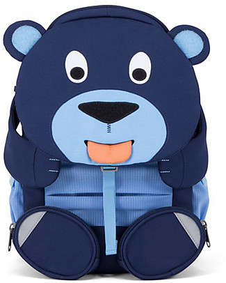Affenzahn Kids Backpack 3-5 years, Bela Bear - Perfect for Preschool and eco-friendly! Small Backpacks