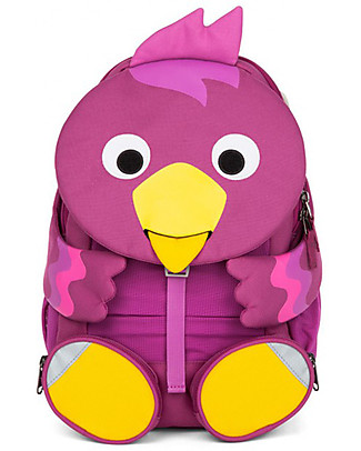 Affenzahn Kids Backpack 3-5 years, Bibi Bird - Perfect for Preschool and eco-friendly! Small Backpacks