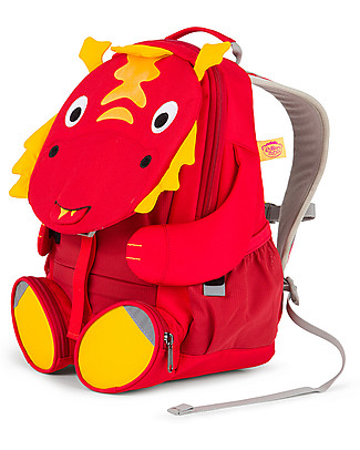 Affenzahn Kids Backpack 3-5 years, Daria Dragon – Perfect for Preschool and Eco-Friendly! Small Backpacks