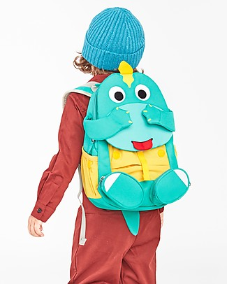 Affenzahn Kids Backpack 3-5 years, Didi Dino - Perfect for Preschool and eco-friendly! Small Backpacks