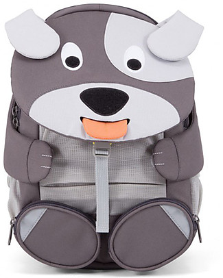 Affenzahn Kids Backpack 3-5 years, Dylan Dog - Perfect for Preschool and eco-friendly! null