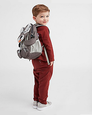 Affenzahn Kids Backpack 3-5 years, Dylan Dog - Perfect for Preschool and eco-friendly! Small Backpacks