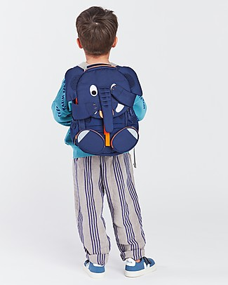 Affenzahn Kids Backpack 3-5 years, Elias Elephant - Perfect for Preschool and Eco-Friendly Small Backpacks