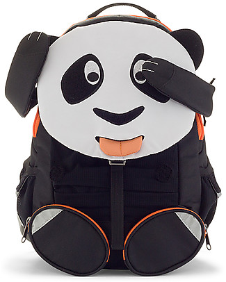 Affenzahn Kids Backpack 3-5 years, Paul Panda - Perfect for Preschool and Eco-Friendly! null