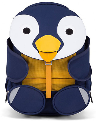 Affenzahn Kids Backpack 3-5 years, Polly Penguin - Perfect for Preschool and eco-friendly! Small Backpacks