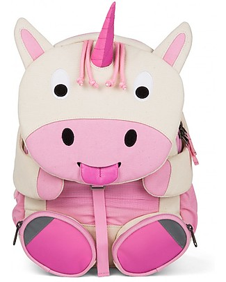 Affenzahn Kids Backpack 3-5 years Uma Unicorn - Organic Cotton - Limited edition Small Backpacks