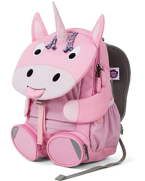 Affenzahn Kids Backpack 3-5 years, Ursula Unicorn - Perfect for Preschool and eco-friendly! Small Backpacks