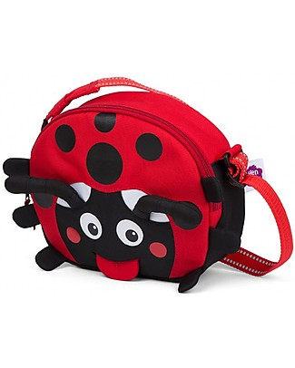 Affenzahn Kids Shoulder Bag Lilly Ladybird - Eco-friendly and playful! Messenger Bags