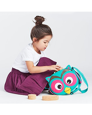 Affenzahn Kids Shoulder Bag Olivia Owl - Eco-friendly and playful! Messenger Bags