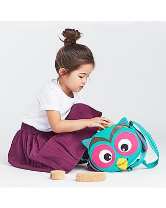 Affenzahn Kids Shoulder Bag Olivia Owl - Eco-friendly and playful! Small Backpacks