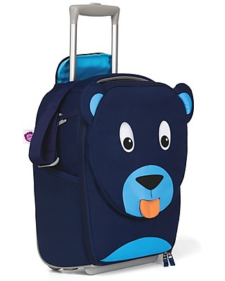 Affenzahn Kids Suitcase, Bobo Bear - Perfect as Hand Luggage! Travel Bags