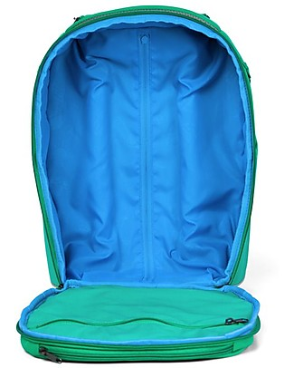 Affenzahn Kids Suitcase, Finn Frog - Perfect as Hand Luggage! Travel Bags