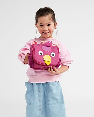 Affenzahn Kids Toiletry Bag, Bella Bird - Useful and funny! Makeup Bags & Pouches