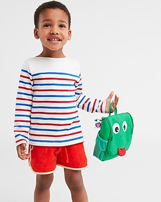 Affenzahn Kids Toiletry Bag, Finn Frog - Useful and funny! Makeup Bags & Pouches