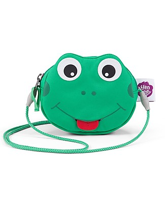 Affenzahn Kids Wallet, Finn Frog - Enhance the independence! Messenger Bags