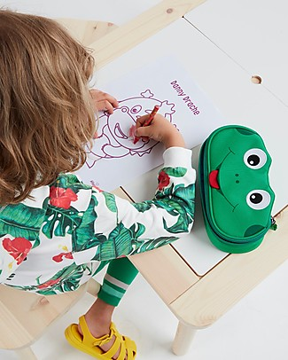Affenzahn Pencil Case Finn Frog - Durable and Eco-friendly! Pencil Cases