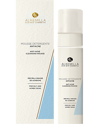 Alkemilla Anti-Acne Cleansing Mousse - 150 ml Detergents