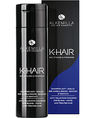 Alkemilla Anti-Yellowing Shampoo for Blonde Hair, K-Hair - 250 ml Hair Care