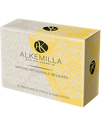 Alkemilla Delicate Soap With Peach And Apricot Fragrance - 100 gr Detergents